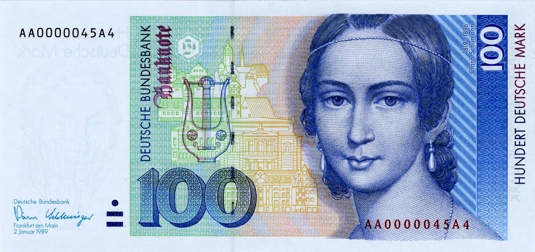 Plant die Bundesregierung den EU-Ausstieg? Die Bundesbank druckt jedenfalls bereits neue D-Mark-Scheine!