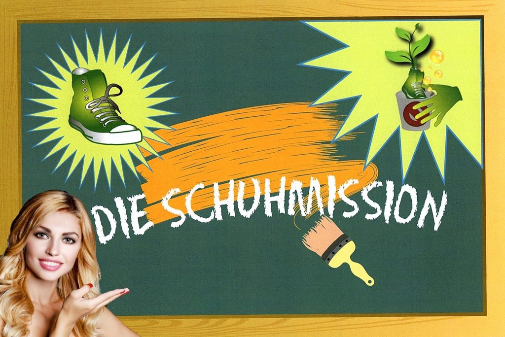 Die Schu(h)lmission: ein Projekt zur Förderung von Bildung und Umweltschutz (Foto: Tatjana Genrich & Pixel Power)