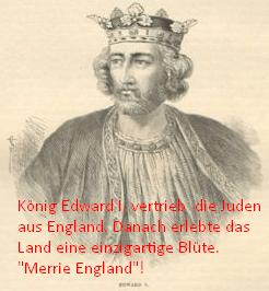 König Edward I. warf die Wucherer einfach aus dem Land